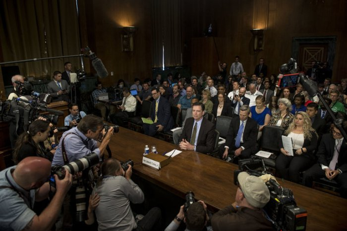 Comey's Public Hearing
